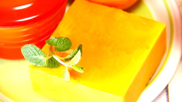 オレンジ&ミント 【とろける泡のはちみつクリーム石鹸】