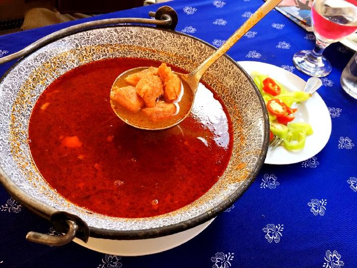 魚のスープ、ハラースレー