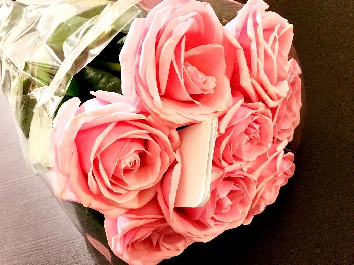 素敵な花束のプレゼント