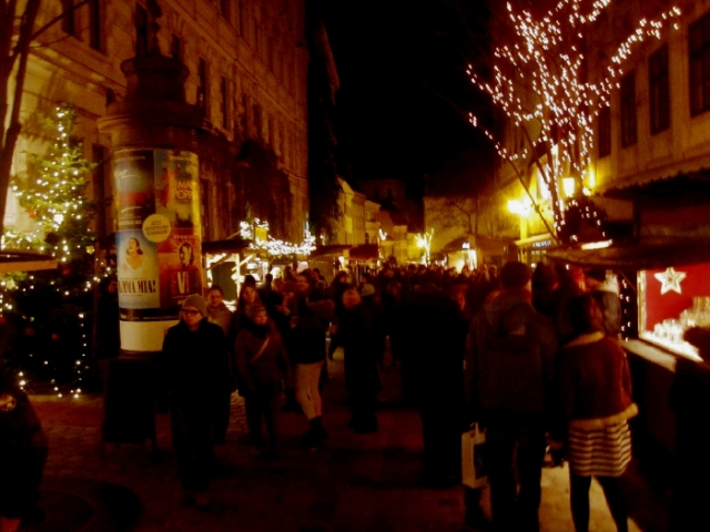 ウィーンのクリスマスマーケット