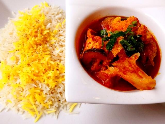 どこにでもある、というわけではないがアフガニスタン料理も