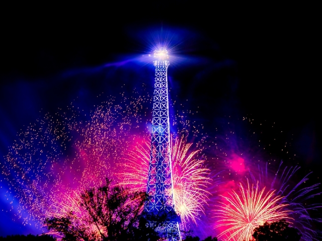 パリの年越し