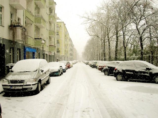 ベルリンの冬
