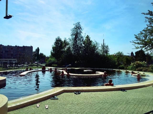 天気の良い日は露天風呂へ